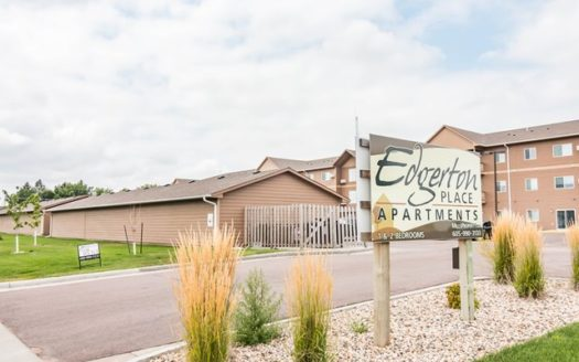 Edgerton Place Apartments in Mitchell, SD - Property Sign
