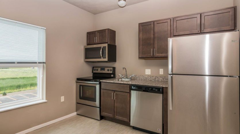 Edgerton Place Apartments in Mitchell, SD - Phase II Studio Appliances