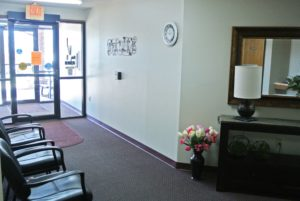 Lincoln Apartments I and II in Pierre, SD - Entrance