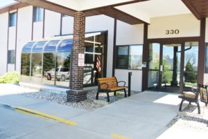 Lincoln Apartments I and II in Pierre, SD - Entry