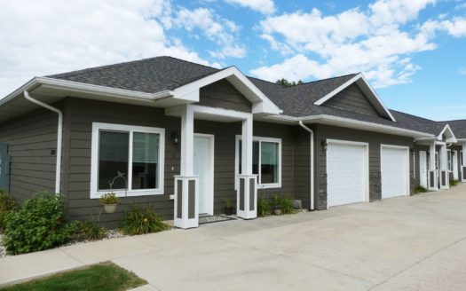 Evergreen Townhomes in Madison, SD - Exterior