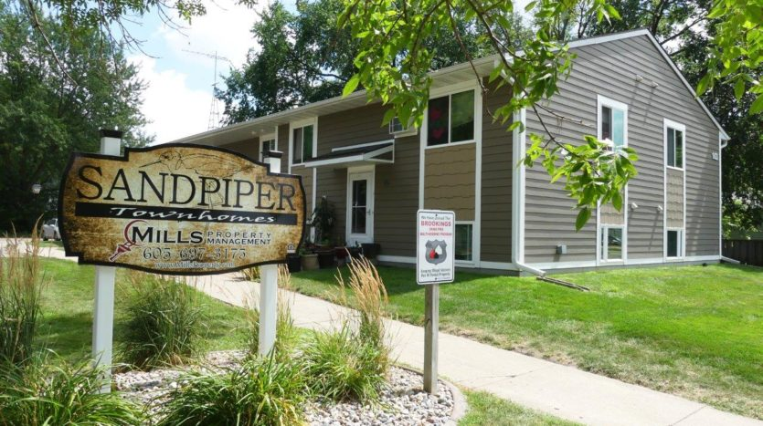 Sandpiper Townhomes in Brookings, SD - Exterior