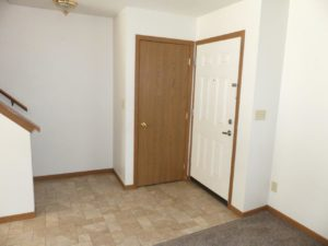 Pheasant Valley Courtyard Townhomes in Milbank, SD - Front Door and Front Closet