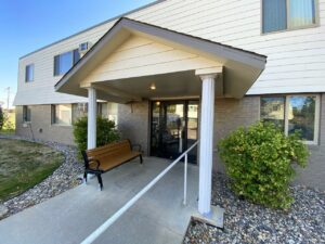 Canton Villa Apartments in Canton, SD - Front Entrance