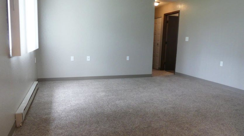 Clairview Apartments in Brookings, SD - 2 Bedroom Updated Apartment Living Room