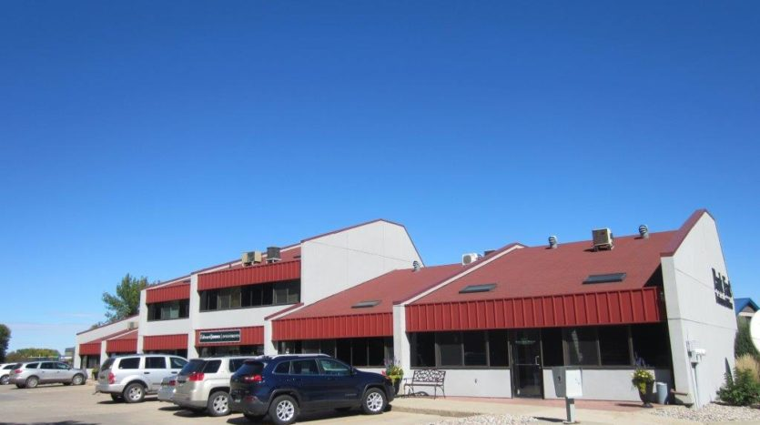 Park East Professional Offices in Brookings, SD - Back Entrance 2