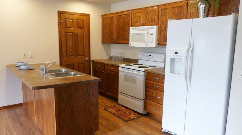 Ideal Twinhomes in Brookings, SD - Kitchen Floor Plan B