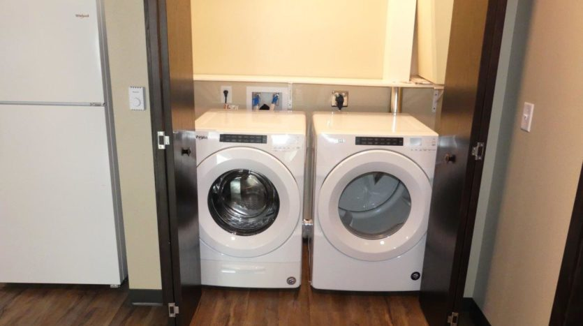 Lakota Village Townhomes in Brookings, SD - In-Unit Washer and Dryer (1 Bedroom Unit)