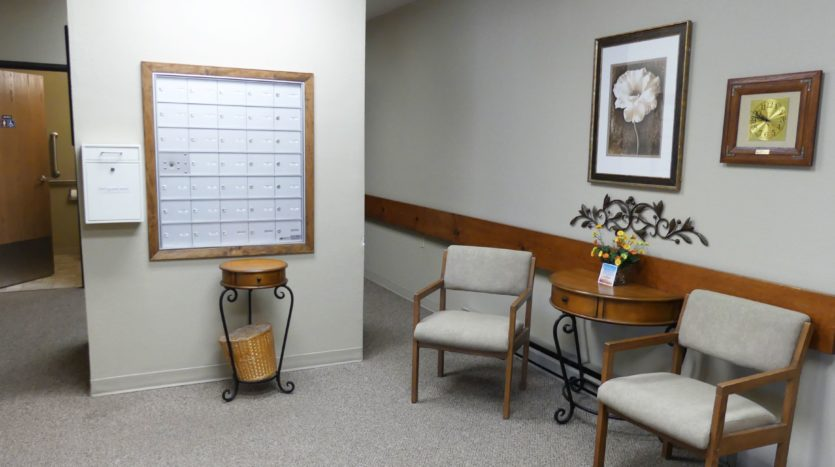 Pheasant Valley Courtyard Apartments in Milbank, SD - Indoor Mail
