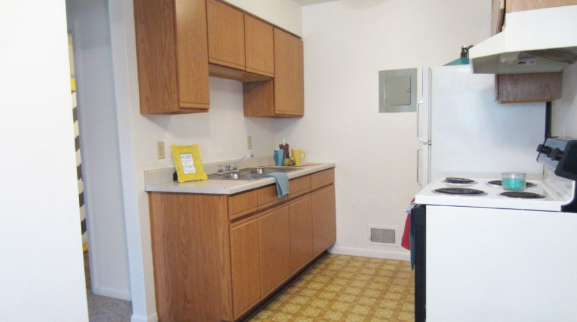 Village Green Apartments in Yankton, SD - Kitchen