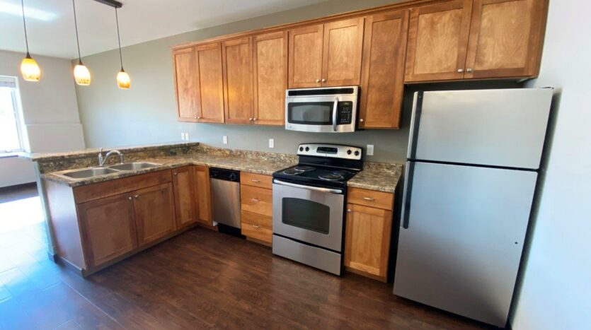 Downtown Lofts in Brookings, SD - 1 Bed Apartment Kitchen