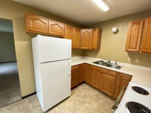 olony West Townhomes in Watertown, SD - Kitchen Looking Out (Alternative Layout)
