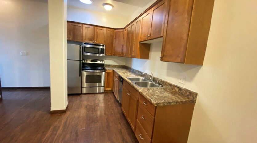 Downtown Lofts in Brookings, SD - 4 Bed Apartment Kitchen