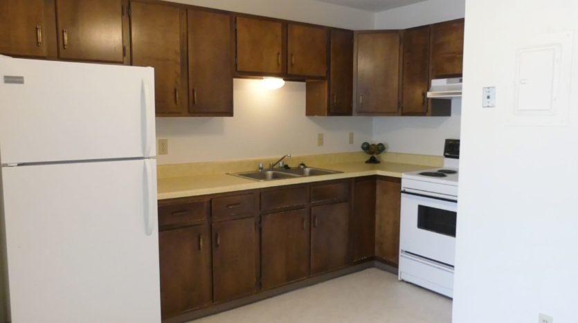 Grandview Apartments in Chamberlain, SD - Kitchen