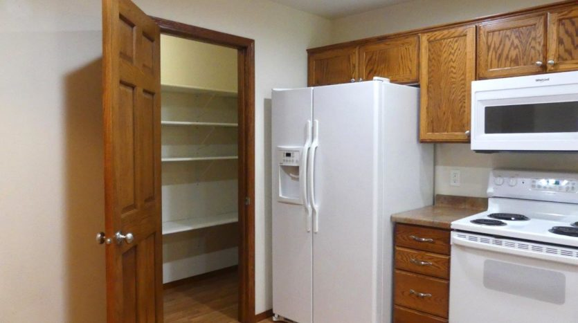 Ideal Twinhomes in Brookings, SD - Kitchen Pantry Floor Plan A