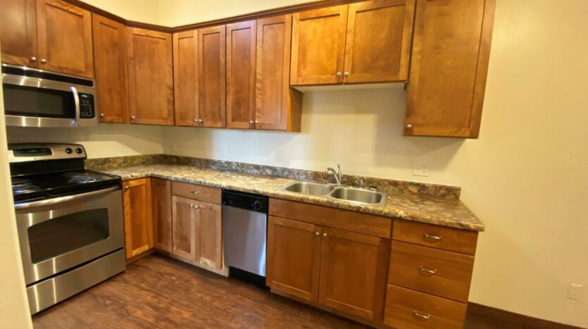 Downtown Lofts in Brookings, SD - 4 Bed Apartment Kitchen2