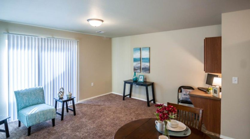 Lake Area Townhomes in Madison, SD - Living Room
