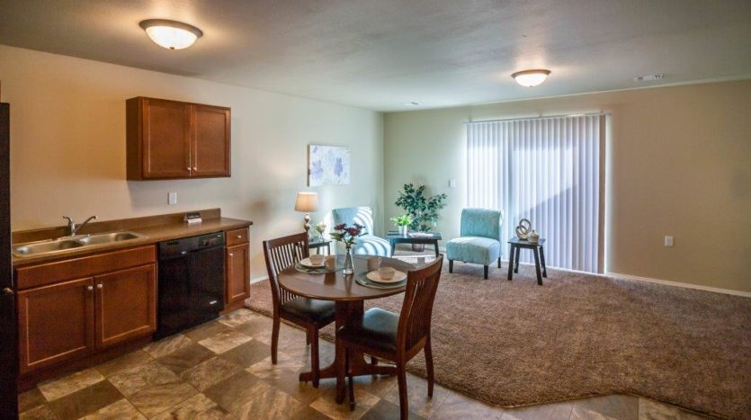 Lake Area Townhomes in Madison, SD - Open Concept