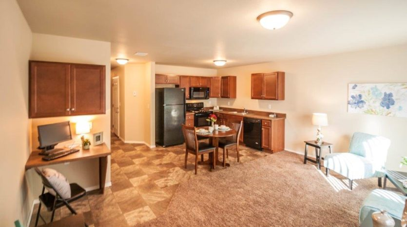 Lake Area Townhomes in Madison, SD - Desk Space Built In