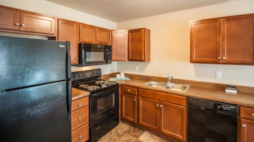 Lake Area Townhomes in Madison, SD - Kitchen Close Up