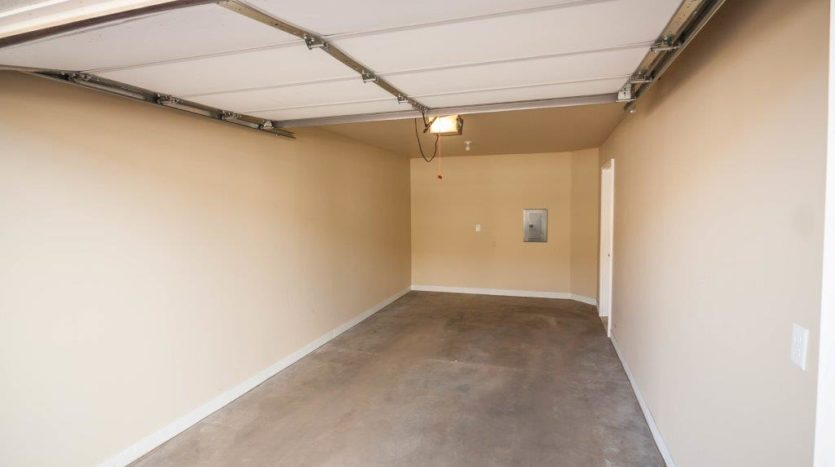 Lake Area Townhomes in Madison, SD - Garage Interior