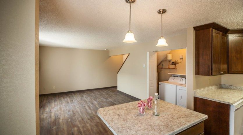 Lakota Village Townhomes in Brookings, SD - Living Room/Dining Room