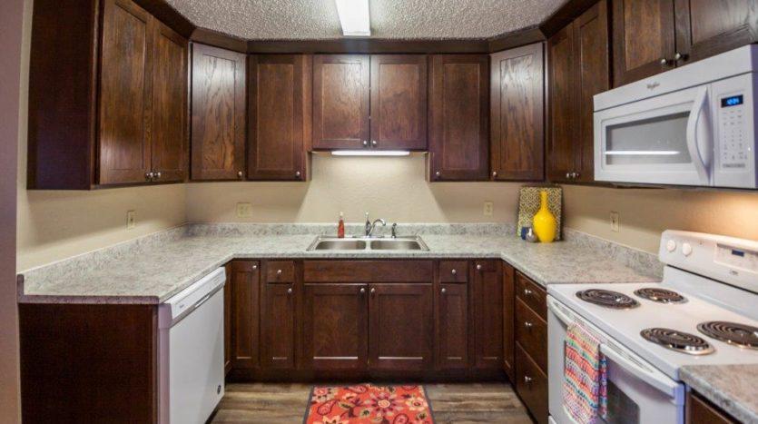 Lakota Village Townhomes in Brookings, SD - Kitchen