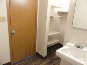 Lakeview Terrace Apartments in Chamberlain, SD - Closet