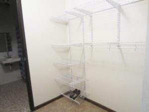 Arrowhead Apartments in Brookings, SD - Large Closet