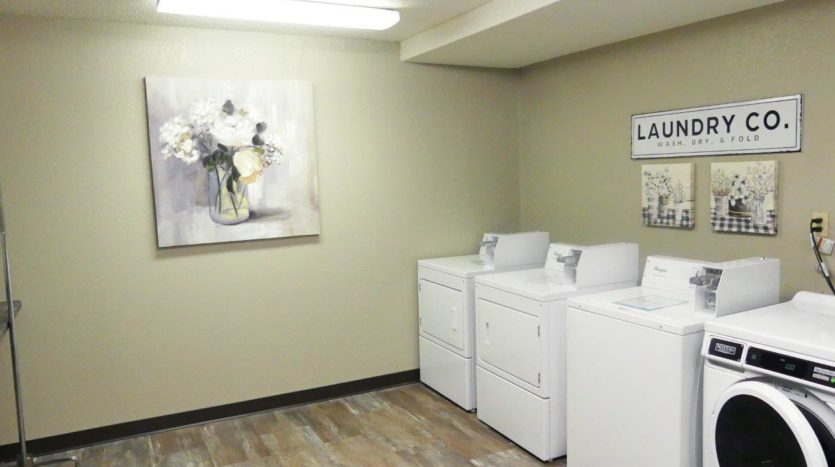 Arrowhead Apartments in Brookings, SD - Laundry Room