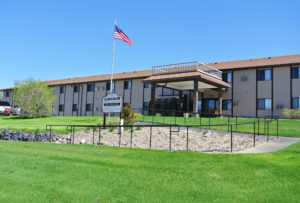Lincoln Apartments I and II in Pierre, SD - Building Exterior