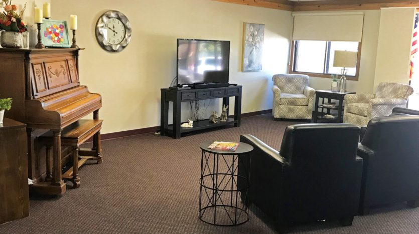 Lincoln Apartments I and II in Pierre, SD - Community Room