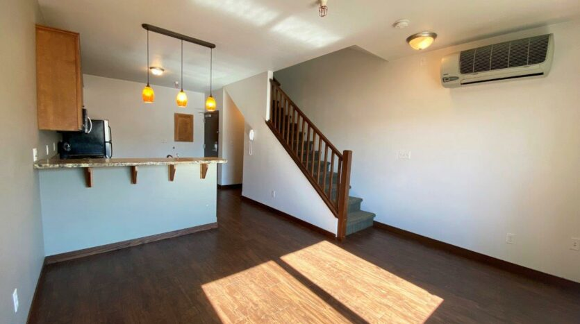 Downtown Lofts in Brookings, SD - 1 Bed Apartment Living Area