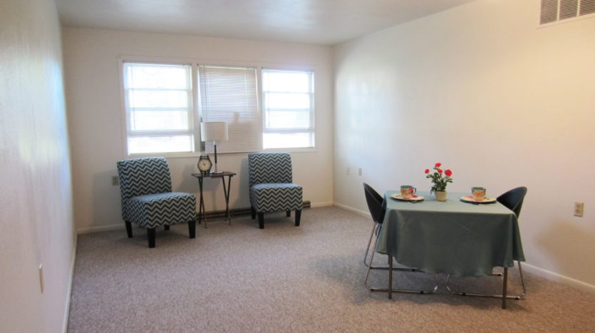 Village Green Apartments in Yankton, SD - Living / Dining Room