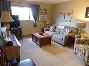 Sunchase Apartments in Brookings, SD - Living Room