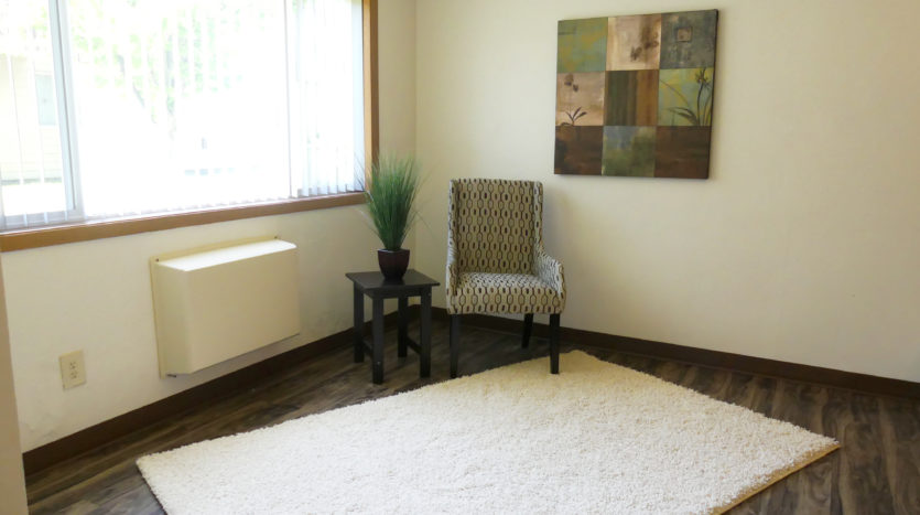 Lakeview Terrace Apartments in Chamberlain, SD - Living Room