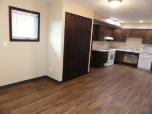 Lakota Village Townhomes in Brookings, SD - Front Closet (1 Bedroom Unit)