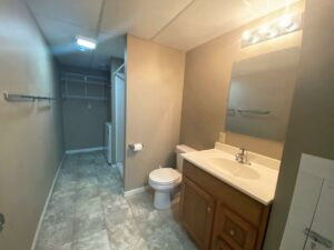 1309 5th Street in Brookings, SD - Lower Level Bathroom