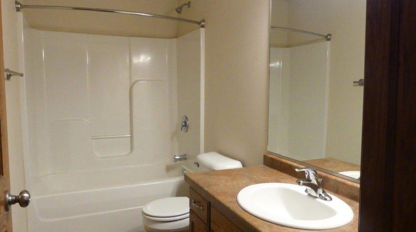 Ideal Twinhomes in Brookings, SD - Main Floor Bathroom Floor Plan A