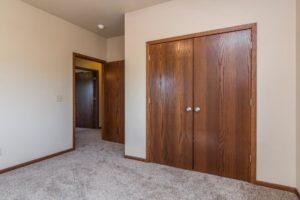 Mills Ridge Apartments in Brookings, SD - Bedroom Closet
