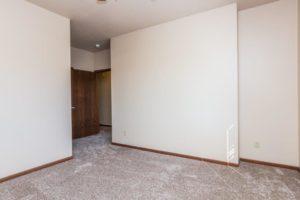 Mills Ridge Apartments in Brookings, SD - Style C Bedroom 3 Doorway