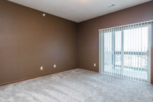 Mills Ridge Apartments in Brookings, SD - Style C Patio Door