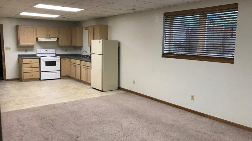 913 A/B 1st Street - Unit B Kitchen & Living Room