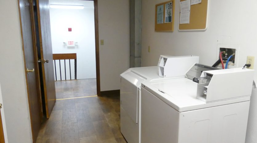Grandview Apartments in Chamberlain, SD - On Site Laundry