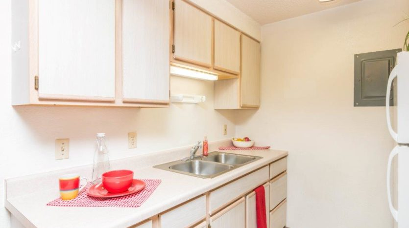 Onaka Village Apartments in Brookings, SD - Kitchen