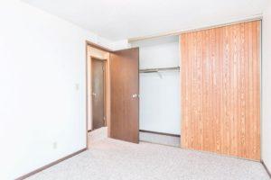 Onaka Village Apartments in Brookings, SD - Bedroom 1 Closet