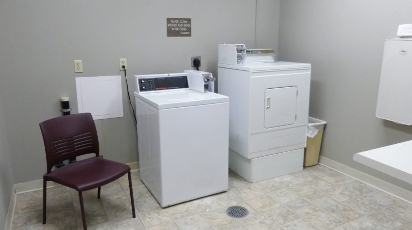 Pheasant Valley Courtyard Apartments in Milbank, SD - Onsite Laundry
