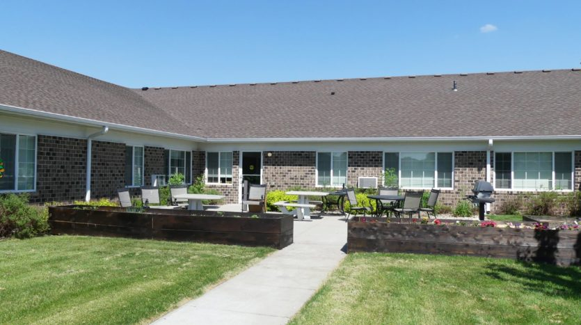 Pheasant Run Apartments in Brookings, SD- Outdoor Patio