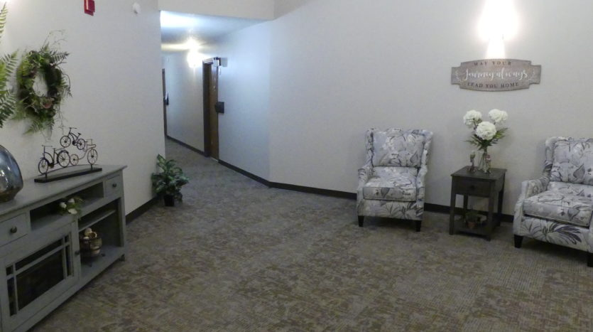 Friendship Village Senior Apartments in Dell Rapids, SD - Building Hall