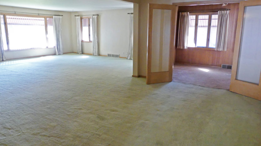 805 6th Street in Brookings, SD - Formal Dining / View to Den